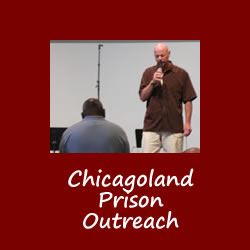 Chicagoland Prison Outreach - Director Dan Swets praying at Taste of Reconciliation2007