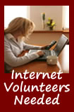 Internet Ministry Volunteers Needed